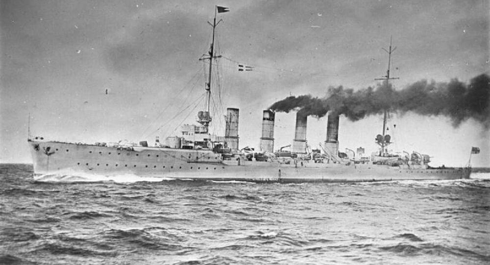 German light cruiser Karlsruhe