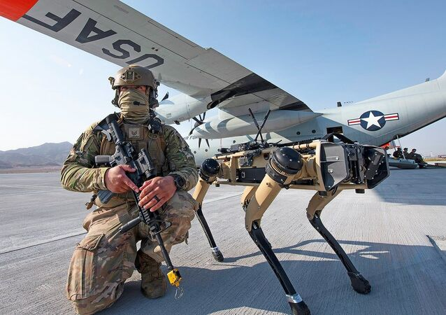 Air Force  Robot Dogs