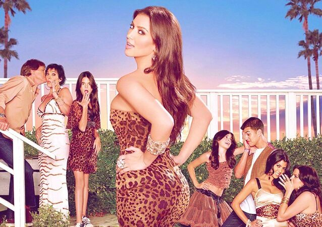 A poster of the show Keeping Up With The Kardashians