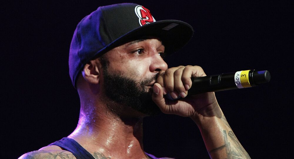 Joe Budden of Slaughter House performs during the Shady 2.0 SXSW concert at the Austin Music Hall on Friday, March 16, 2012 in Austin, Texas
