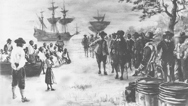The first African slaves arrive in Virginia in 1619 - Sputnik International