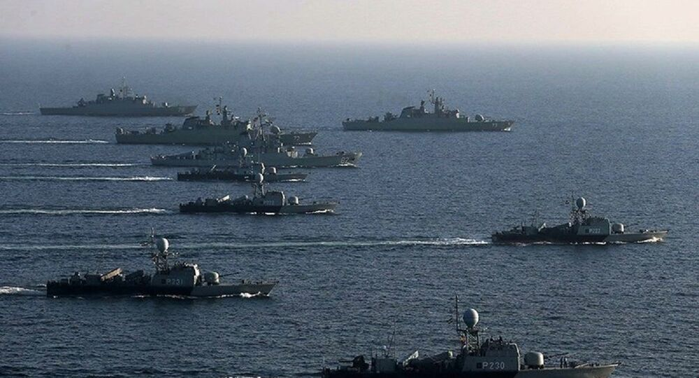 A group of Iranian Navy
