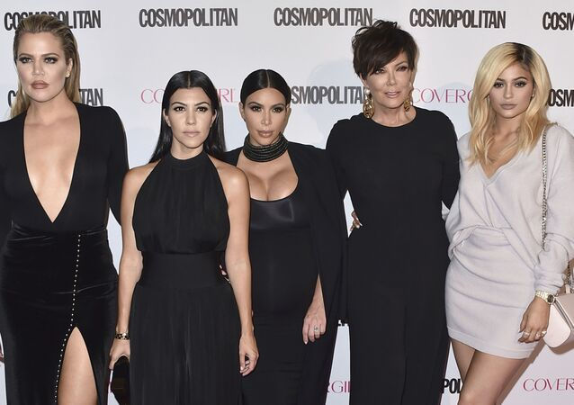 "Khloe Kardashian, from left, Kourtney Kardashian, Kim Kardashian, Kris Jenner and Kylie Jenner arrive at Cosmopolitan magazine's 50th birthday celebration on 12 October 2015, in West Hollywood, California. After more than a decade, ""Keeping Up With the Kardashians"" is ending its run."