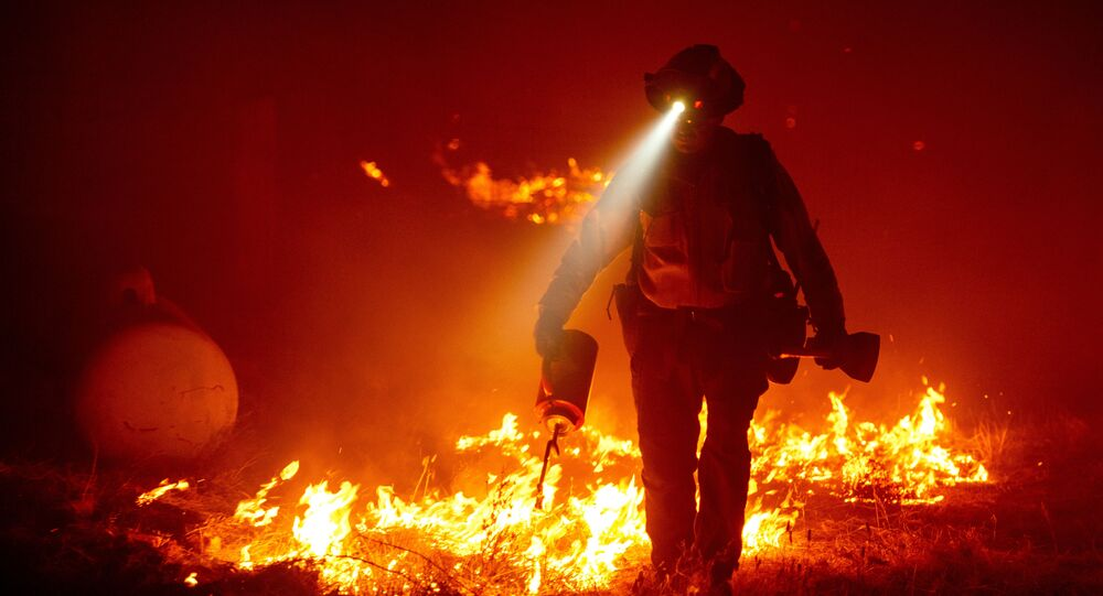Oregon Governor Issues Emergency Declaration Over Fires