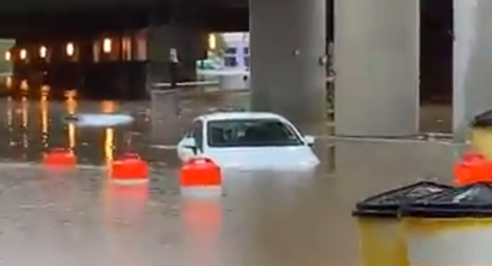 Heavy Rains Flood White House Basement, Submerge Roads Around Washington, DC
