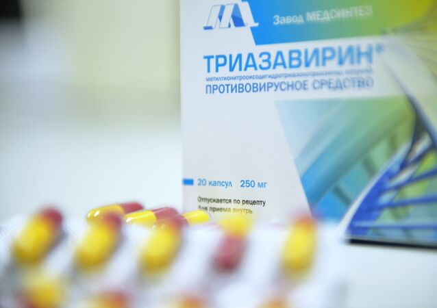 Russian-made anti-coronavirus treatment Triazavirin