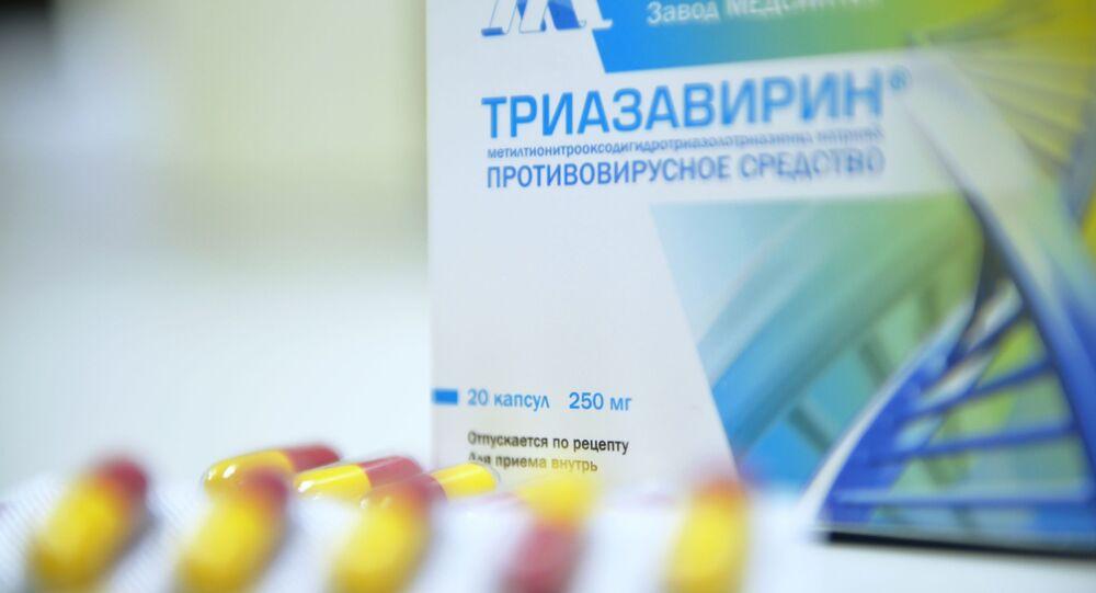 Russian-made anti-coronavirus treatment Triazavirin