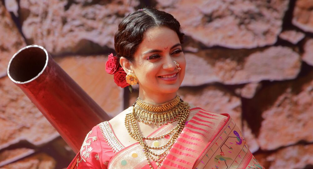 Bollywood actress Kangana Ranaut smiles during the trailer launch of her movie Manikarnika- The Queen of Jhansi in Mumbai, India, Tuesday, Dec.18, 2018. The film is scheduled for release on Jan. 25, 2018