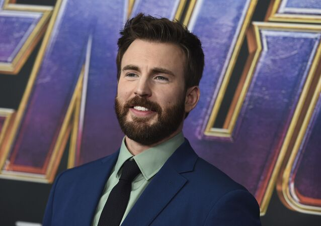 Chris Evans arrives at the premiere of Avengers: Endgame at the Los Angeles Convention Center on Monday, April 22, 2019