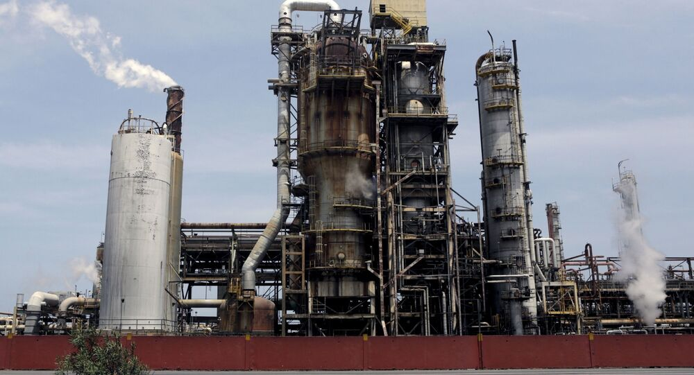 El Palito refinery which belongs to PDVSA is seen in Puerto Cabello, in the state of Carabobo, March 2, 2016. REUTERS/Marco Bello
