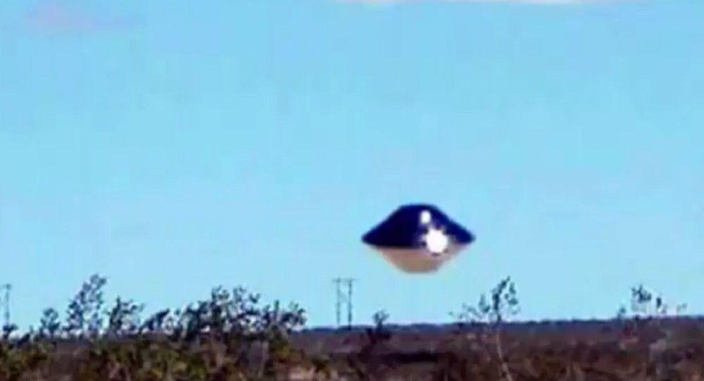 UFO sighting in California