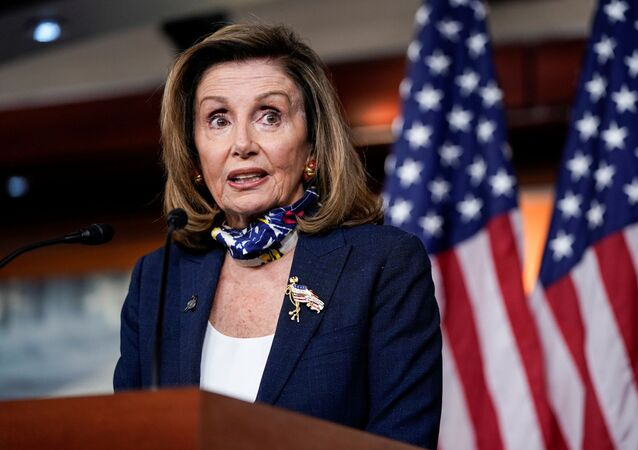 Speaker of the House Nancy Pelosi (D-CA) speaks during a briefing to the media on Capitol Hill in Washington, U.S., September 10, 2020.