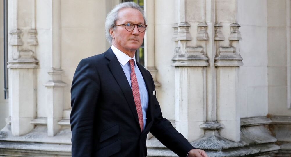Richard Keen QC leaves the Supreme Court in central London, on the second day of the hearing into the decision by the government to prorogue parliament on September 18, 2019.
