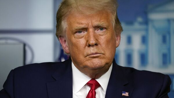 President Donald Trump speaks during a news conference at the White House, Wednesday, Sept. 16, 2020, in Washington - Sputnik International