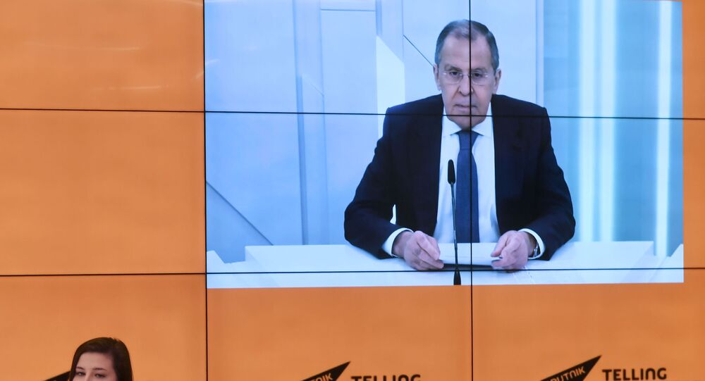 Russian Foreign Minister Lavrov's interview with Sputnik correspondents