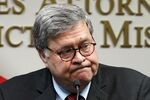 Attorney General William Barr talks to the media during a news conference about Operation Legend, a federal task force formed to fight violent crime in several cities, Wednesday, Aug. 19, 2020