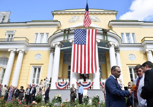 US Ambassador's residence in Moscow