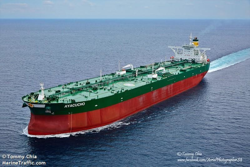Venezuelan supertanker the Ayacucho