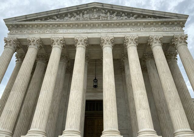A general view of the United States Supreme Court in Washington, U.S., May 3, 2020