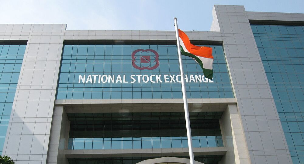 National Stock Exchange, Mumbai, India