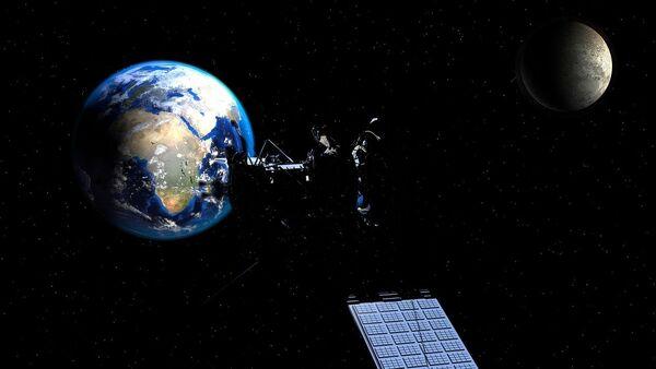 Satellite Moon Earth - Sputnik International