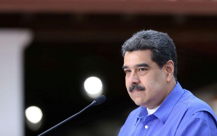 Venezuela's President Nicolas Maduro speaks during an event with the youth of Venezuela's United Socialist Party in Caracas, Venezuela, June 22, 2020