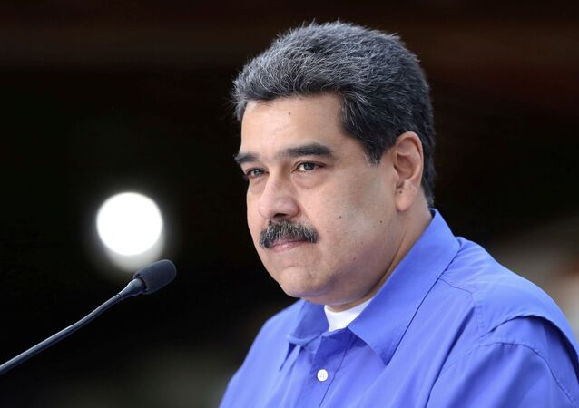 Venezuela's President Nicolas Maduro speaks during an event with the youth of Venezuela's United Socialist Party in Caracas, Venezuela, June 22, 2020
