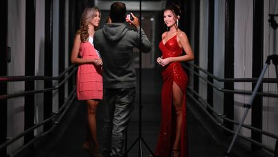 Fairest of Them All: Gorgeous Contestants Prepare for Miss Venezuela Beauty Pageant in Caracas
