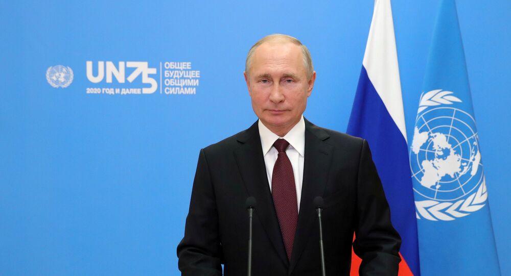 Sanctions Covid 19 Pandemic Struggle For Global Stability Key Takeaways From Putin S Unga Speech Sputnik International