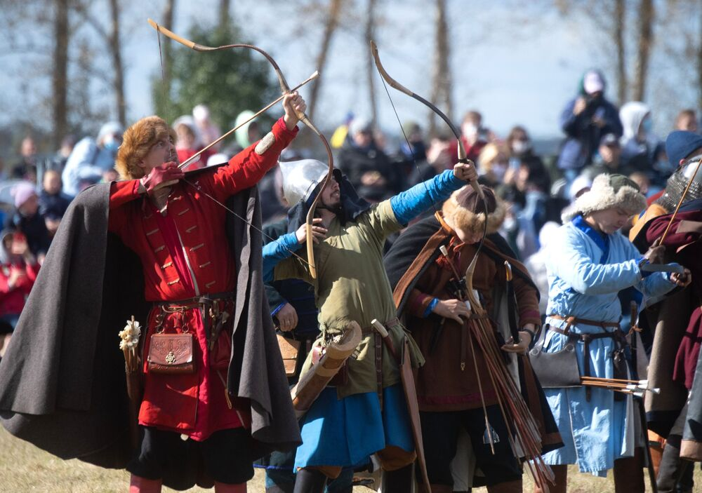 Russia Marks 640th Anniversary of the Battle of Kulikovo With a Three-Day Festival