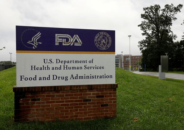 Signage is seen outside of the Food and Drug Administration (FDA) headquarters in White Oak, Maryland, U.S., August 29, 2020.