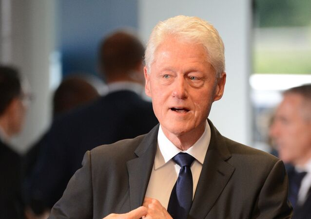 Former US President Bill Clinton before the farewell ceremony for the former Chancellor of Germany, Helmut Kohl, at the European Parliament in Strasbourg, France, 01.07.2017.