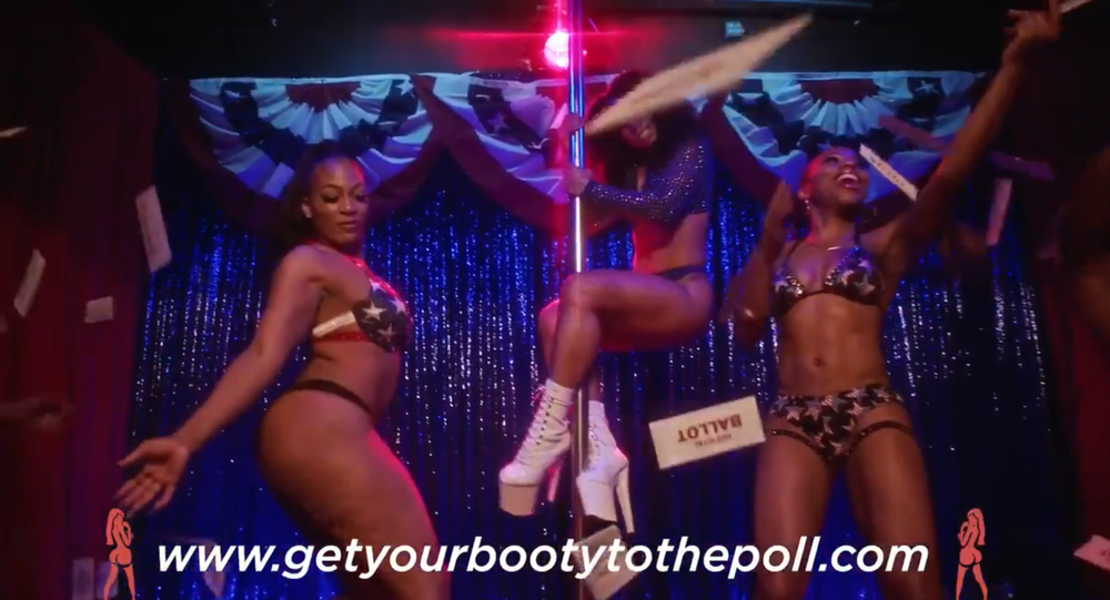 Let's make voting sexy Fire#getyourbootytothepoll #gypttp #NationalVoterRegistrationDay  #Vote #VoteReady  #Election2020  #election
