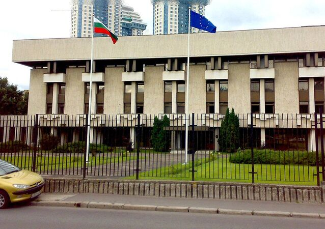 The embassy of Bulgaria in Moscow