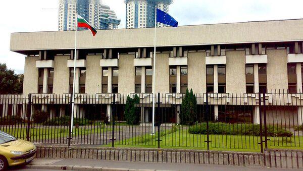 The embassy of Bulgaria in Moscow - Sputnik International