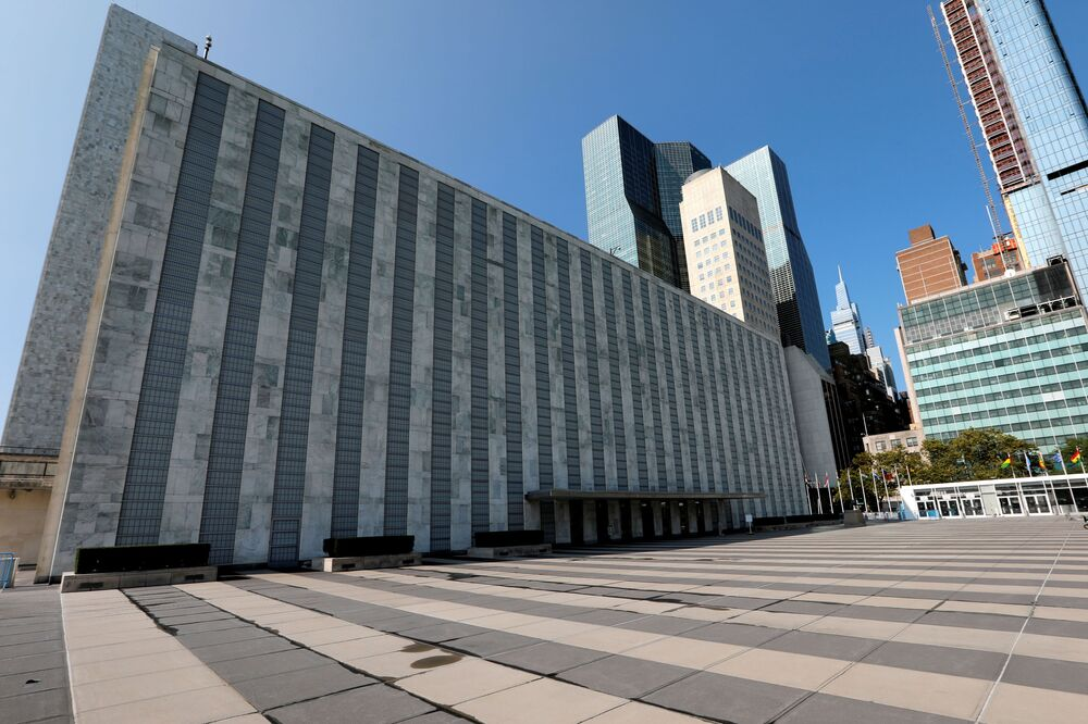 Although a regular session of the UN General Assembly is taking place, the building of the United Nations in New York is deserted. These are also the consequences of the pandemic.