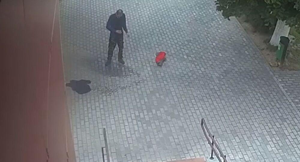 Man Set Himself Alight Near Police Station in Belarus