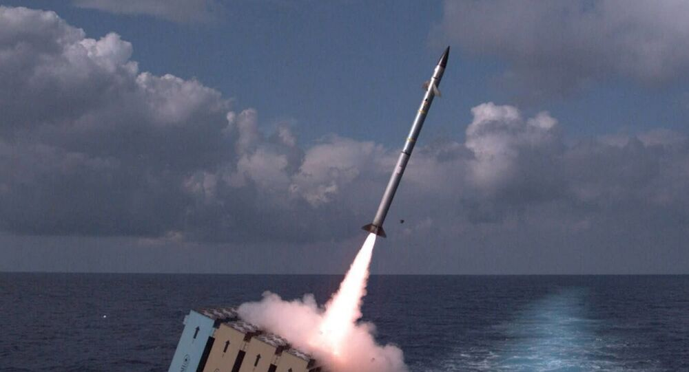 The Israeli Navy tests a ship-based Iron Dome missile defense system, which is declared operational, on November 27, 2017