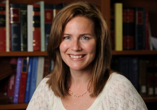 US Court of Appeals for the Seventh Circuit Judge Amy Coney Barrett, a law professor at Notre Dame  University.