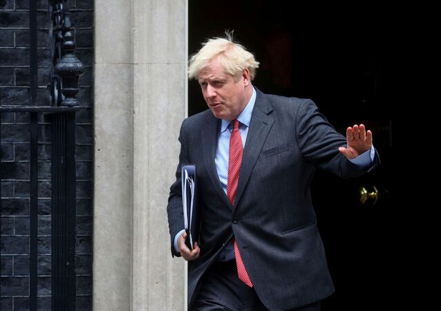 Britain's Prime Minister Boris Johnson leaves 10 Downing Street, in London, Britain, September 22, 2020. REUTERS