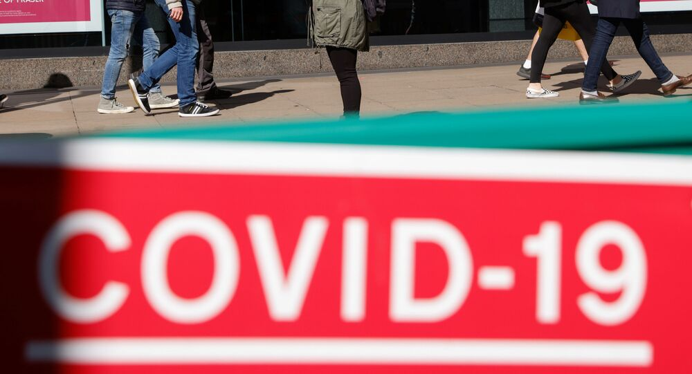 Shoppers are seen on Oxford Street amid the coronavirus disease (COVID-19) outbreak in London, Britain September 25, 2020