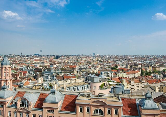 Panoramic view of Vienna