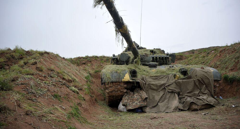 New clashes break out in Nagorno-Karabakh after Washington talks