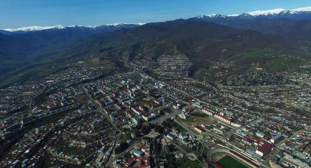 Stepanakert, the unrecognized Nagorno-Karabakh Republic.