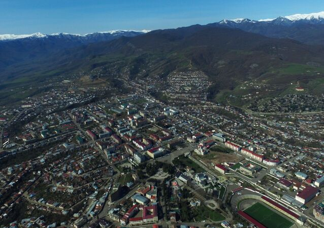 Stepanakert, the unrecognized Nagorno-Karabakh Republic.