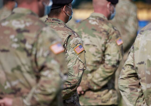 U.S. Army servicemen attend the opening of the Rapid Trident – 2020 international military exercises in Lviv Region, Ukraine September 17, 2020