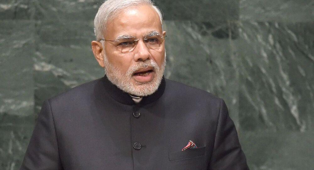The Prime Minister, Shri Narendra Modi