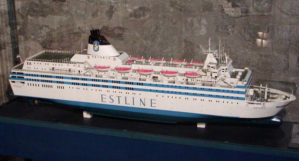 MS Estonia model