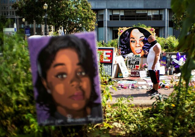 Memorial of Breonna Taylor