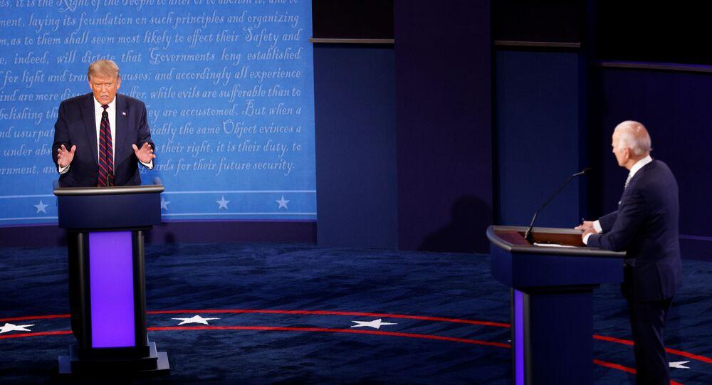 U.S. President Donald Trump and Democratic presidential nominee Joe Biden